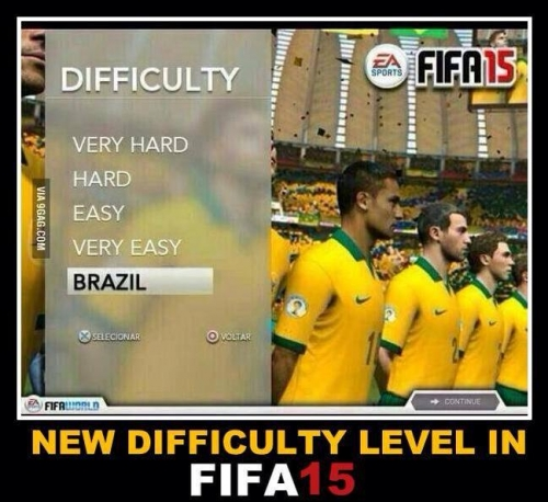 FIFA 15 Difficulty Level, Brazil
