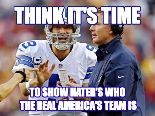 THINK IT'S TIME TO SHOW HATER'S WHO  THE REAL AMERICA'S TEAM IS